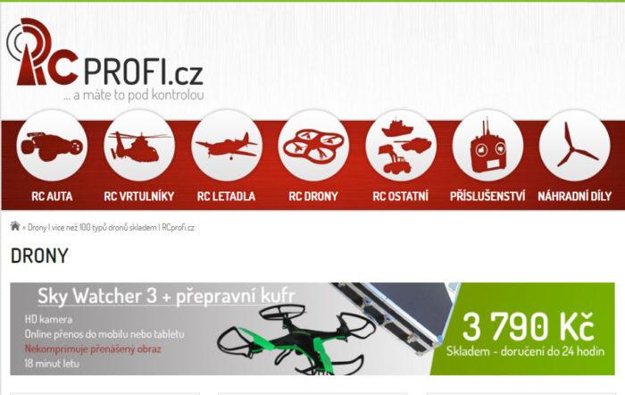 Black Friday na RCprofi.cz. Slevy až 50%