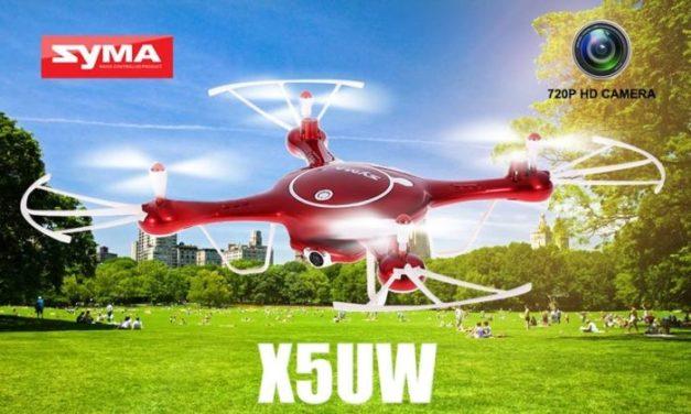 Novinky – Syma X5UW – vylepšená klasika druhé generace