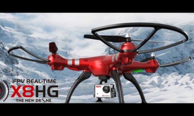 Syma X8HG – kvadrokoptéra s barometrem a FullHD kamerou