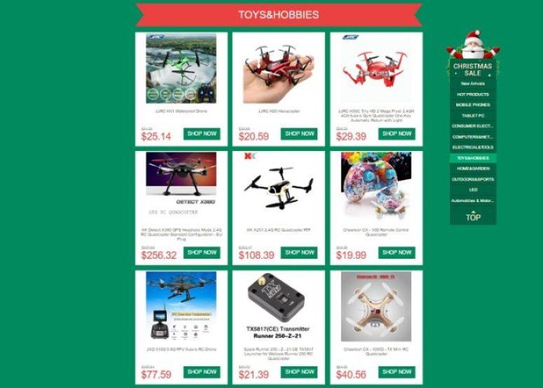 Gearbest Christmas EU warehouse 1216
