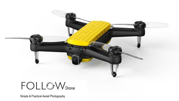 Dron Geniusidea Follow s procesorem Snapdragon ve slevě
