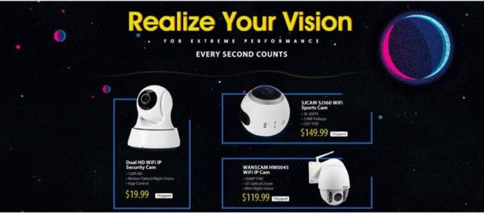 SJCAM SJ360 WiFi a další kamery ve výprodeji