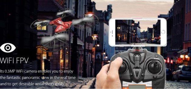 Akce: Skytech TK110HW – skládačka s kamerou, WiFi a ještě něco víc