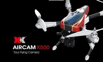 Představení: XK Aircam X500 – Pan kameraman