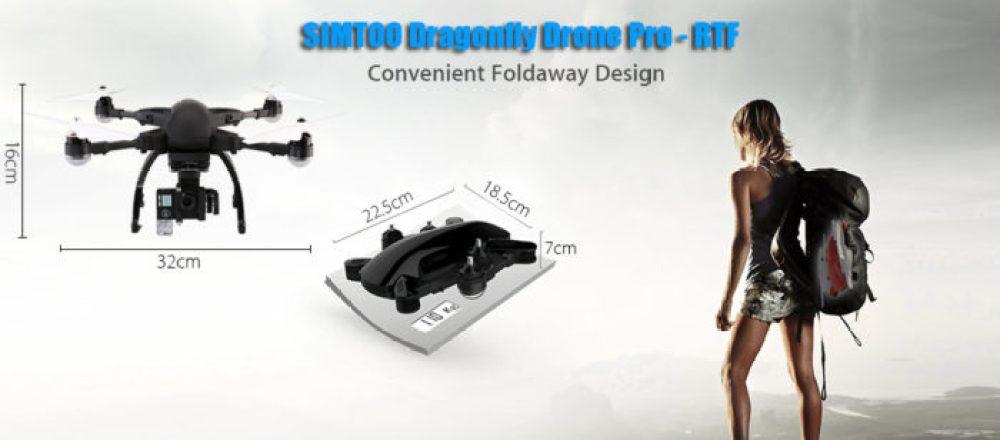 Simtoo Dragonfly Pro rozměry