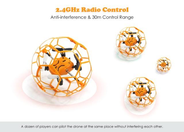 Skytech M70 - dron v kleci