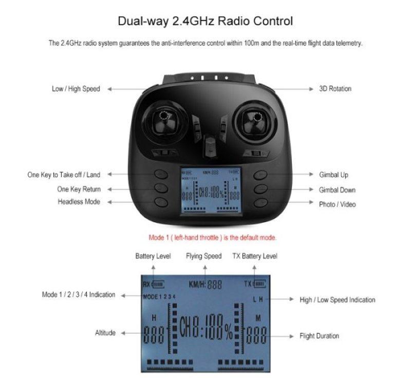 WLtoys Q393 rádio