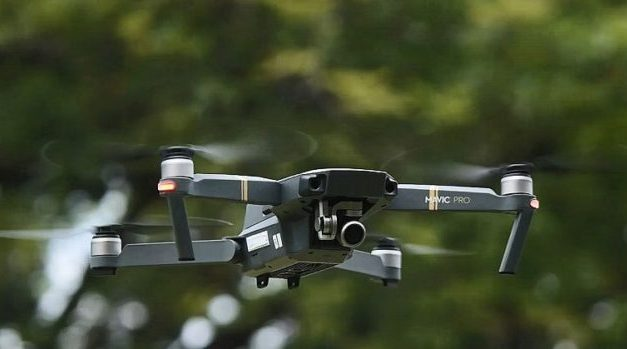 Dron DJI Mavic Pro Fly More Combo v akci na Gearu