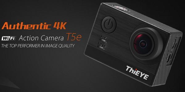 ThiEYE T5e – 4K kamera ve flash sale