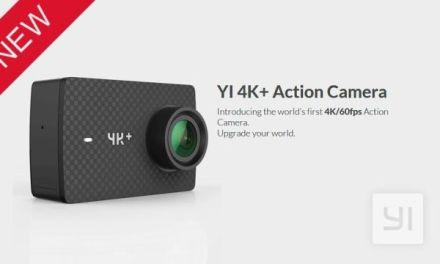 Outdoorová kamera YI 4K+ s 4K/60fps je v předprodeji