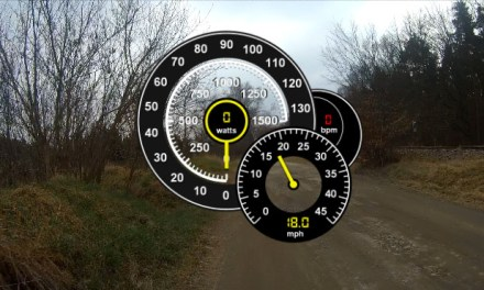 Jak vložit údaje o rychlosti do videa?