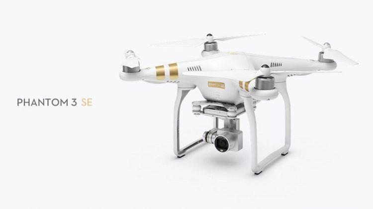 S naším kupónem koupíte dron DJI Phantom 3 SE za skvělou cenu