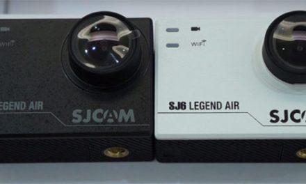 SJCAM SJ6 Legend Air – odlehčená verze jen s jedním displejem