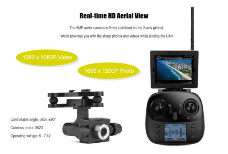 WLtoys Q696-A kamera