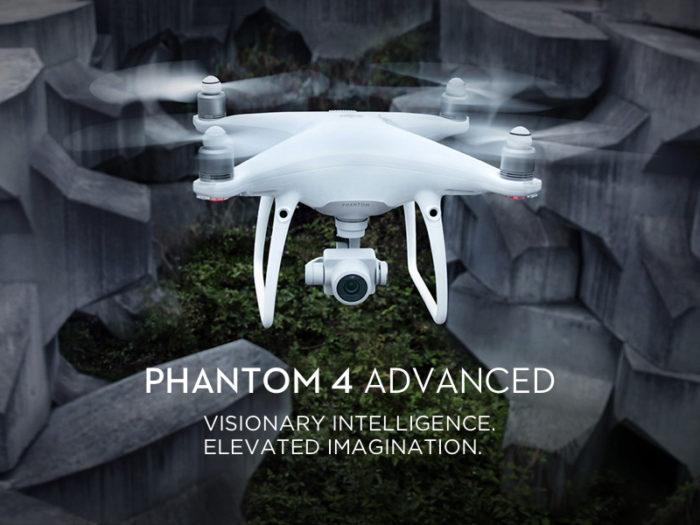 DJI Phantom 4 Advanced oficiálně představen