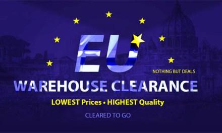 Nedělní porce slev z EU skladu