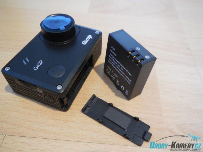 Recenze GitUp Git2P 170° - když chcete kameru se skvělou stabilizací
