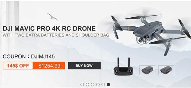 Drony, RC auta a další se slevou 10%