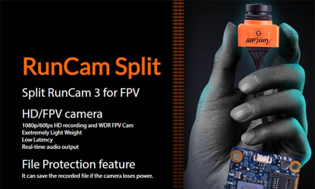 Runcam Split – kombinace FPV a FullHD kamery