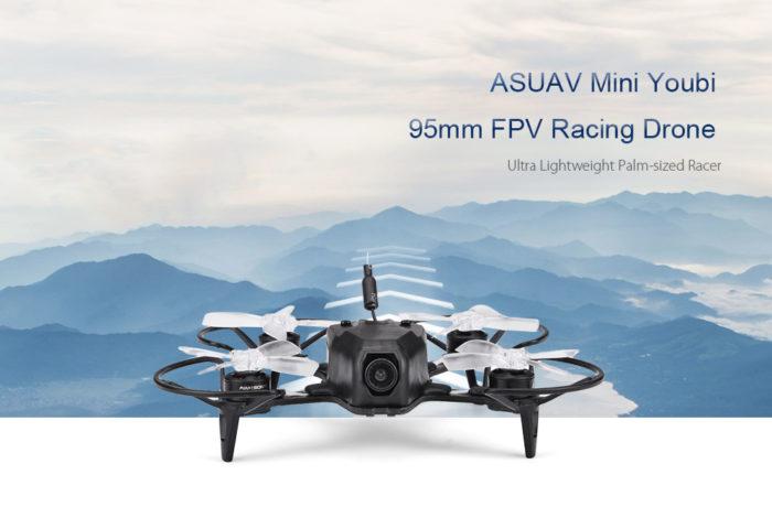 ASUAV Mini Youbi 95mm – další z malých koptér se slušnou výbavou