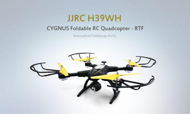 JJRC H39WH Cygnus – skládací dron s HD kamerou