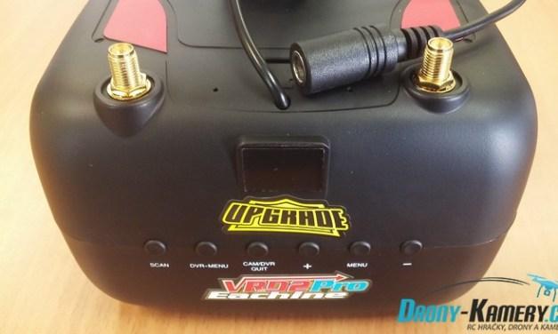 Unboxing Eachine VR D2 Pro – levné FPV brýle