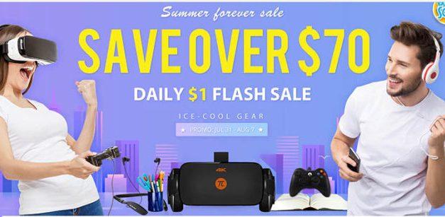 Flash sale a spousta dalších slev na Gearbest.com