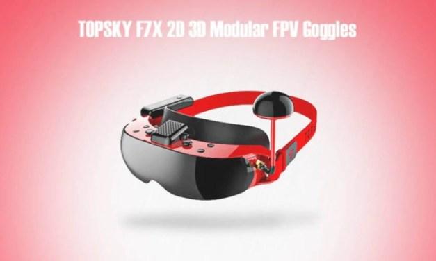 Topsky F7x – modulární FPV brýle s HD displeji