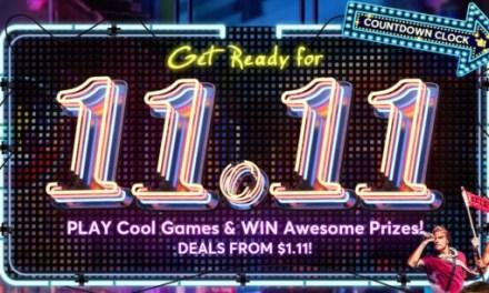 Mega výprodej k 11.11 právě startuje. Nenechte si ujít spoustu skvělých slev