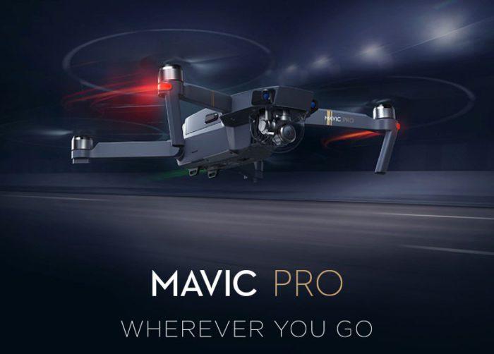 DJI Mavic Pro Fly More Combo z CZ skladu za perfektních 1099$