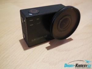 Recenze SJCAM SJ6 Legend Air - kamera s UV filtrem v balení