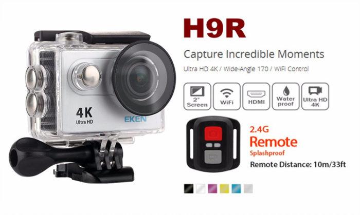 Nejlepší kamery do 50$ 2017 - Eken H9R