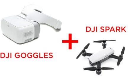 Ovladač na DJI Spark, DJI Googles a baterie pro Xiaomi dron za skvělou cenu