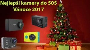 Tipy na nejlepší kamery do 50$ (Vánoce 2017)