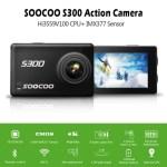 Soocoo S300 – nabitá kamera se snímačem Sony IMX377