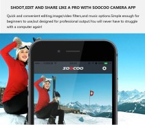 SOOCOO S300 4K 30FPS Sports Camera 2.35 Touchscreen Hi3559V100 IMX377 EIS Wifi External Mic GPS (12)