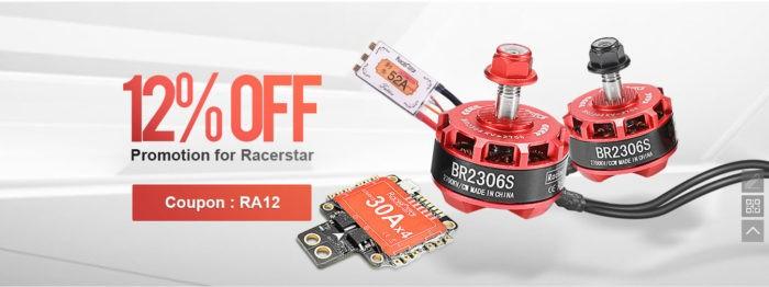 12% sleva na produkty od RacerStar
