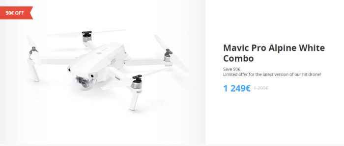 DJI Winter Sale - DJI Mavic Pro Alpine