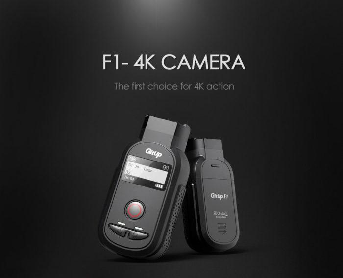 GitUp F1 – první 4K kamera od GitUp