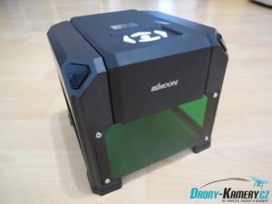 Recenze KKmoon Laser Engraving Machine - gravírování snadno a levně