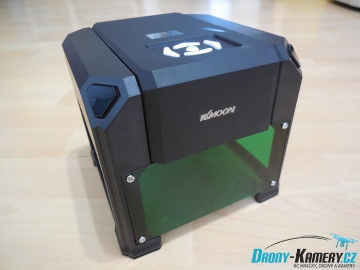 Recenze KKmoon Laser Engraving Machine – gravírování snadno a levně