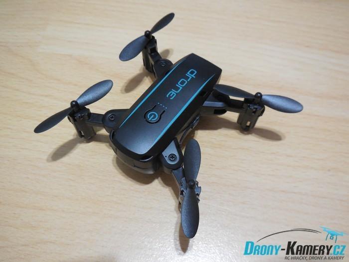 Unboxing Linxtech IN 1601 - první pohled na miniaturní skládací dron