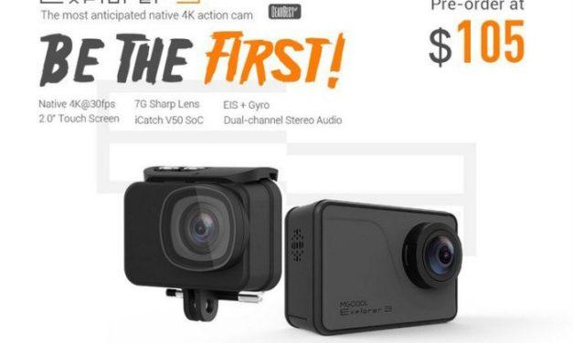 MGcool Explorer 3 – další levná 4K kamera s gyro stabilizací