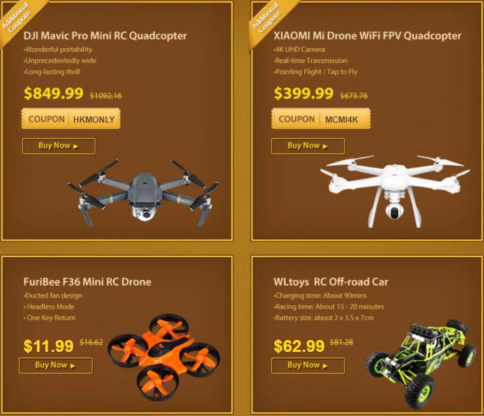 Novoroční výprodej dronů odstartován