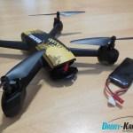recenze JXD 518 - baterie