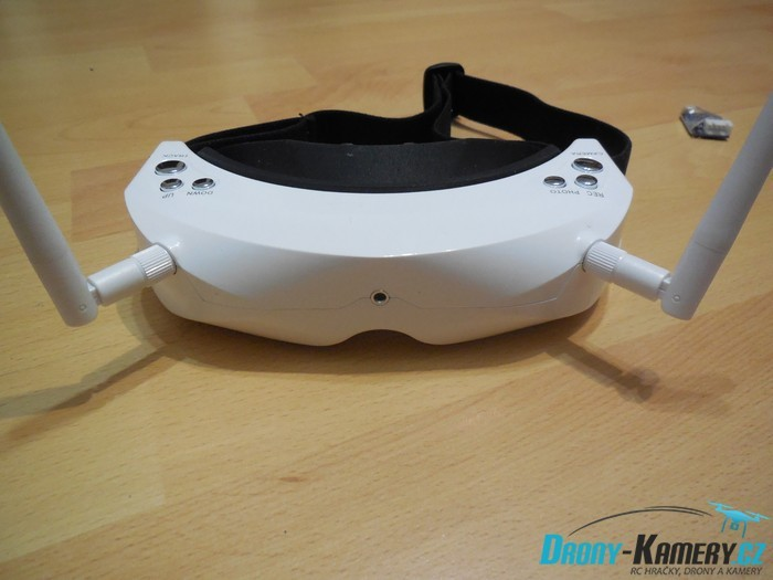 Recenze Skyzone Sky02s V+ 3D - špičkové FPV brýle pro náročné