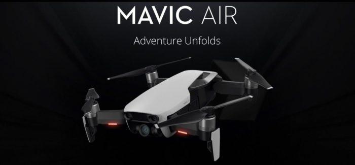 DJI Mavic Air v základní i Combo verzi v nové slevové akci