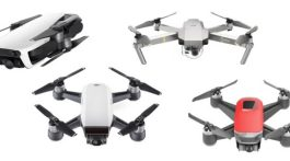 DJI Mavic Air vs. DJI Mavic Pro vs. DJI Spark vs. Walkera Peri