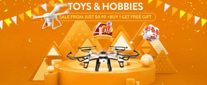 Gearbest slaví - sleva na drony