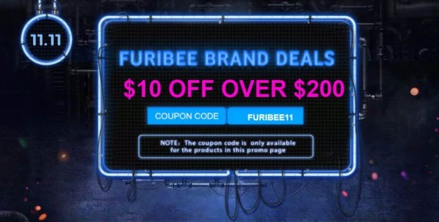 Obrovský výprodej dronů od FuriBee